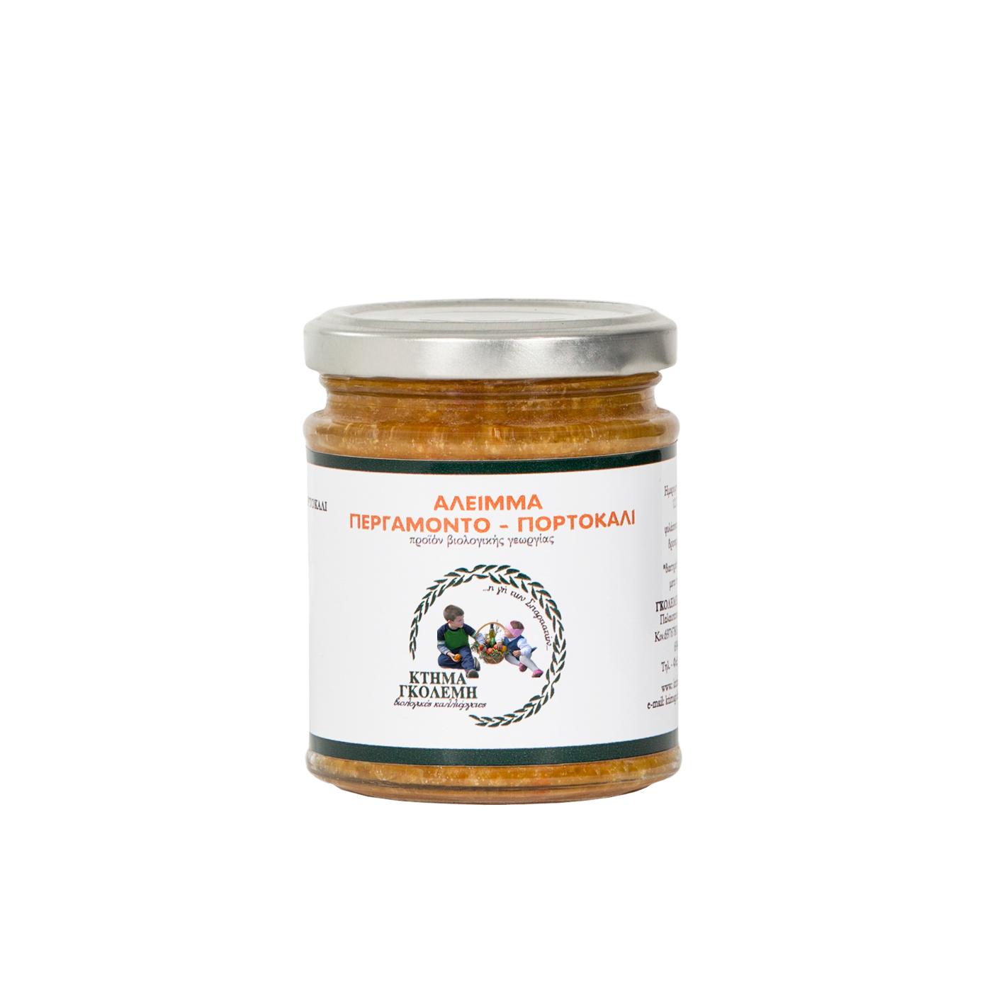 Άλειμμα Περγαμόντο-Πορτοκάλι